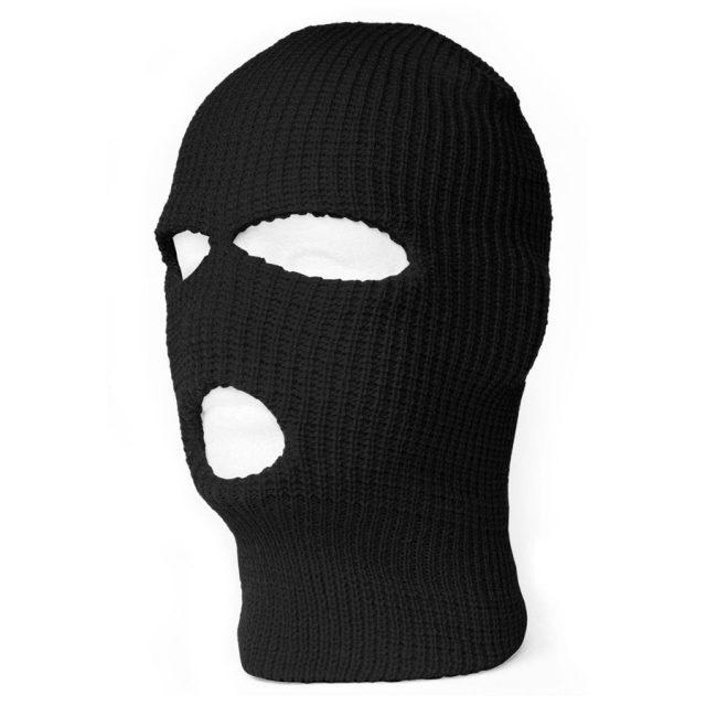 Top Headwear 3-Hole Wind-Resistant Balaclava Ski Mask